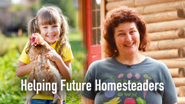 Helping A Future Homesteader