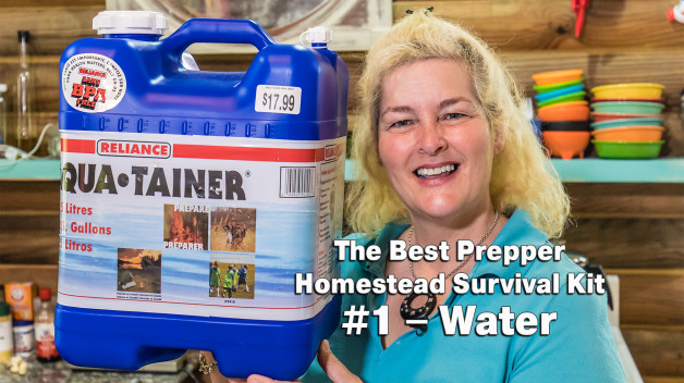 The Best Prepper Survival Kit #1 – Water