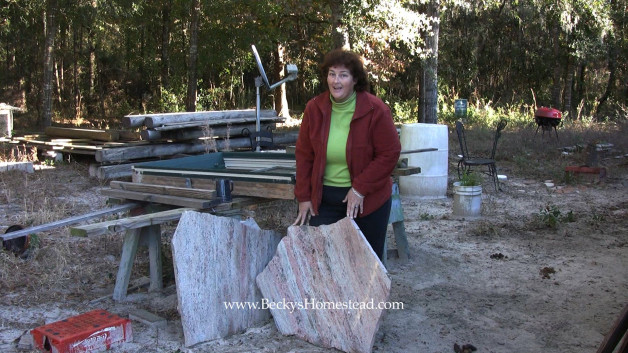 Barter for a Granite Countertop